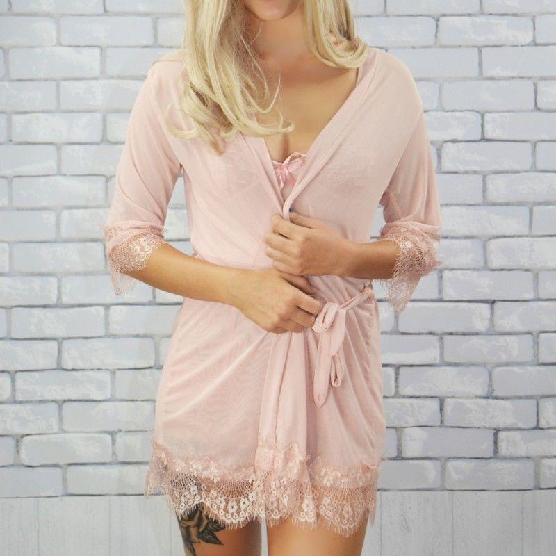 Komplet koszula + szlafrok Beauty Senses BS00143