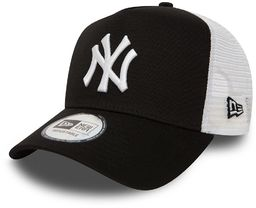 Czapka z daszkiem New Era MLB New York Yankees Clean A Frame Trucker czarna - 11588491