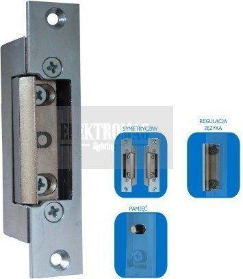 ES-S12AC/DC-M Elektrozaczep symetryczny z pamięcią