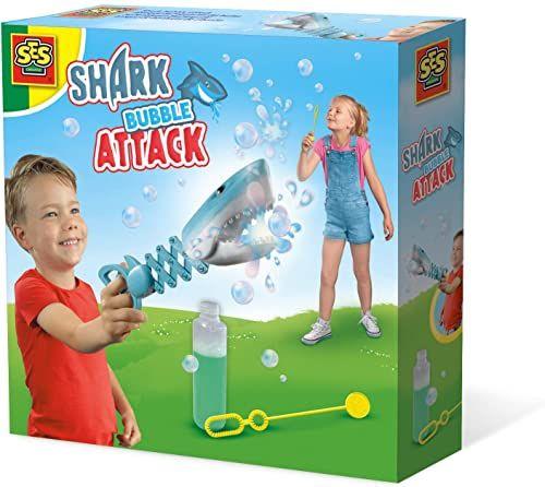 SES Creative 2265 baniek mydlanych atak rekina