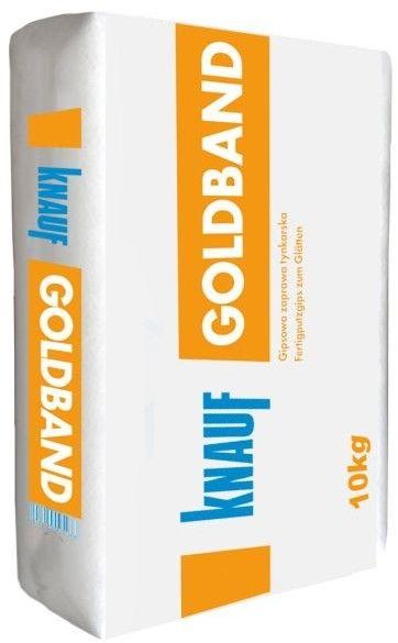 Tynk gipsowy ręczny Knauf Goldband 10 kg