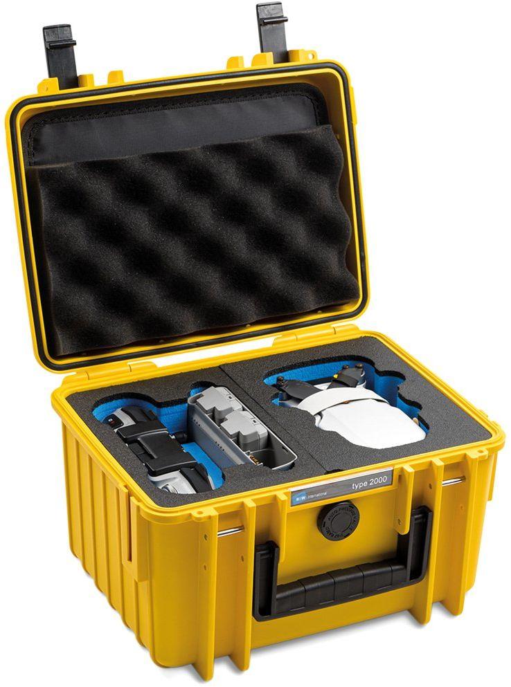Walizka transportowa BW outdoor.cases Typ 2000 DJI Mini 2 Fly More Combo żółta