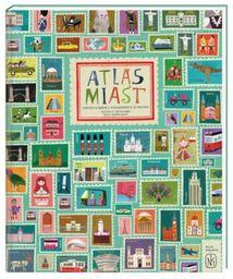 Atlas miast ZAKŁADKA DO KSIĄŻEK GRATIS DO KAŻDEGO ZAMÓWIENIA