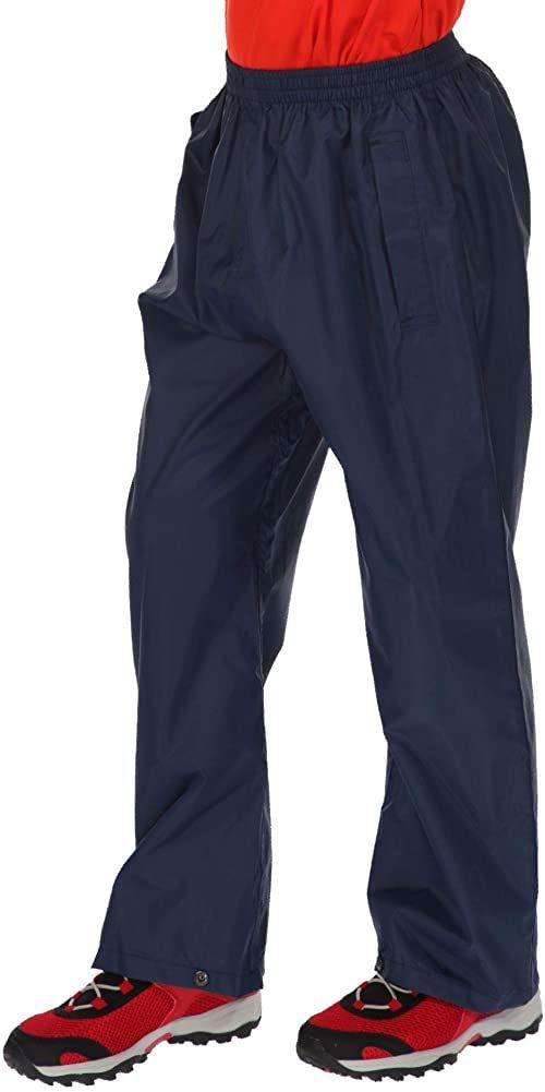 Regatta Unisex Dzieci Pack It Regatta Pack It Over Spodnie - Czarne, Rozmiar 9-10 niebieski (północ) Size 9-10