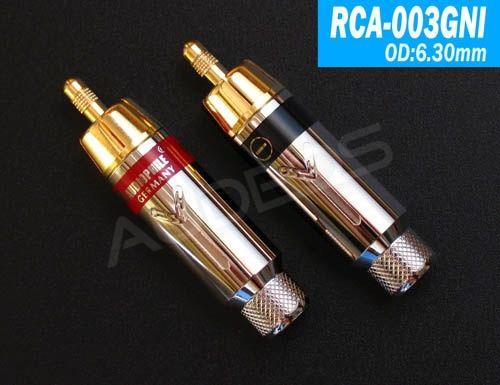 Yarbo RCA-003GNI - wtyki RCA 6,3mm (2 szt.)