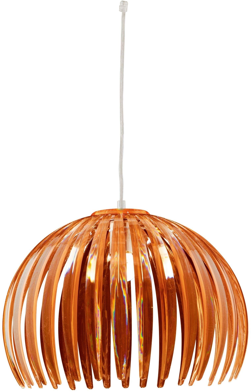 Candellux ABUKO 31-55043 lampa wisząca brązowy klosz akryl 1X60W E27 18 cm