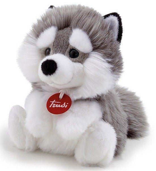 Pluszowe maskotki Piesek Husky Aron 29047-Trudi, przytulanki dla dzieci