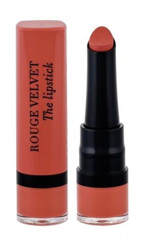 BOURJOIS Paris Rouge Velvet The Lipstick pomadka 2,4 g dla kobiet 15 Peach Tatin