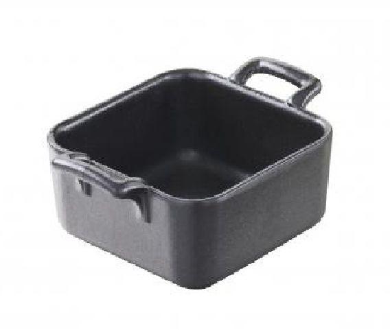 Mini naczynie kwadratowe BELLE CUISINE NOIR