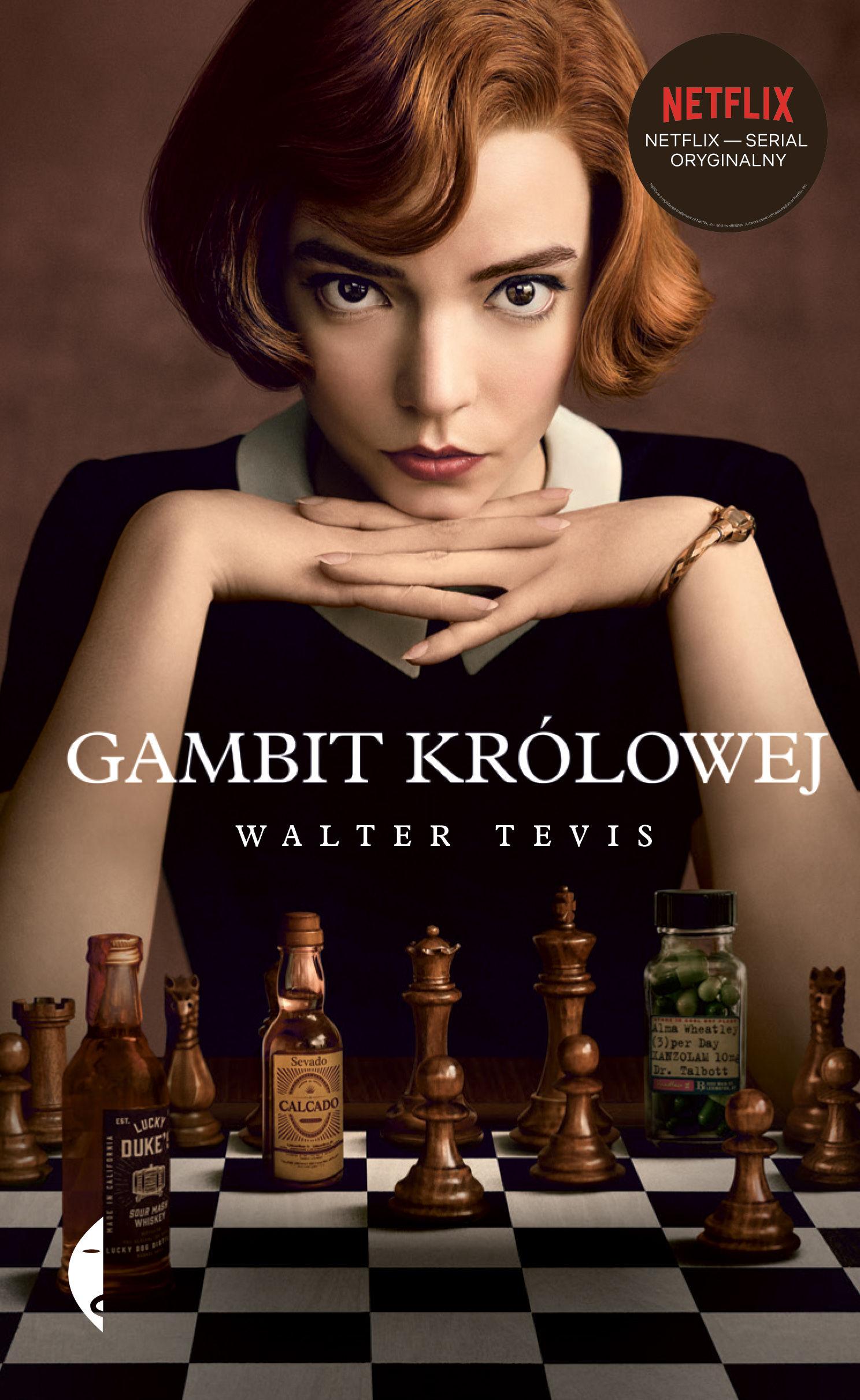 Gambit królowej - Walter Tevis - ebook