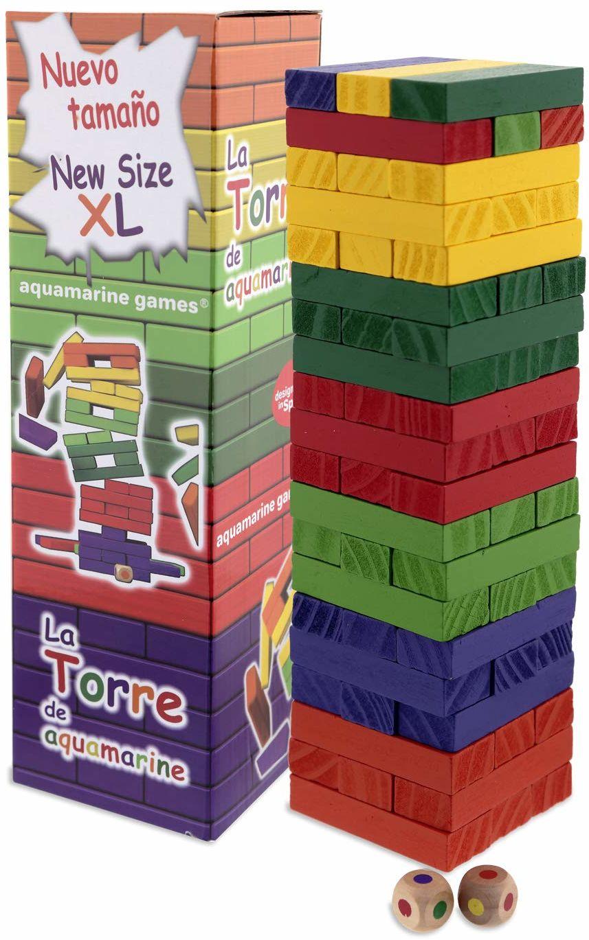 Aquamarin Games  wieża kolorów XL, gra zręcznościowa (compudid cpes03)
