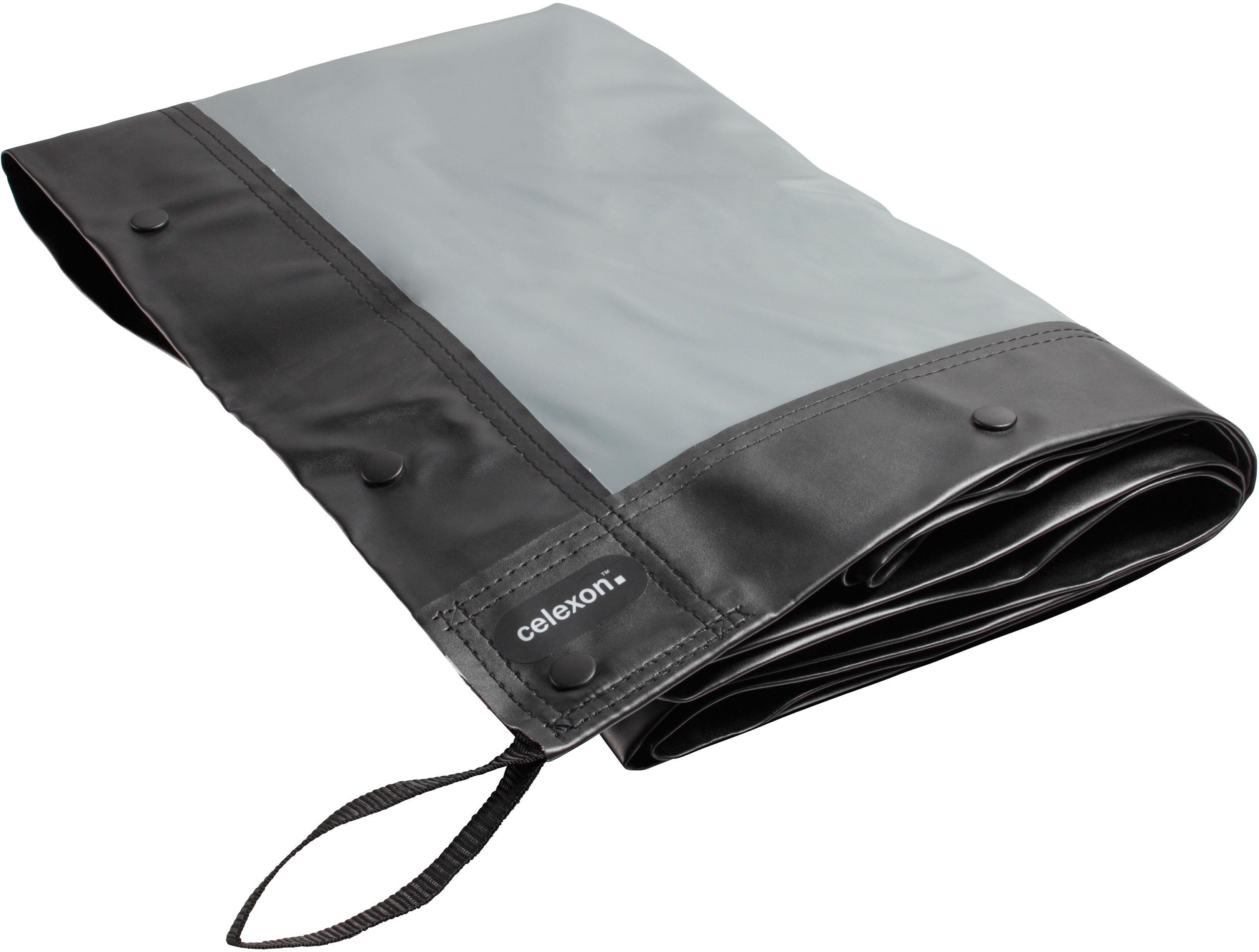 celexon tkanina projekcyjna 305 x 229 cm do ekranu ramowego Mobile Expert - tylna projekcja