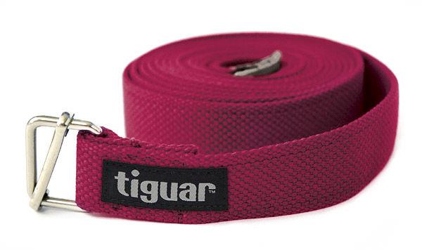 Pasek do jogi tiguar (śliwkowy)