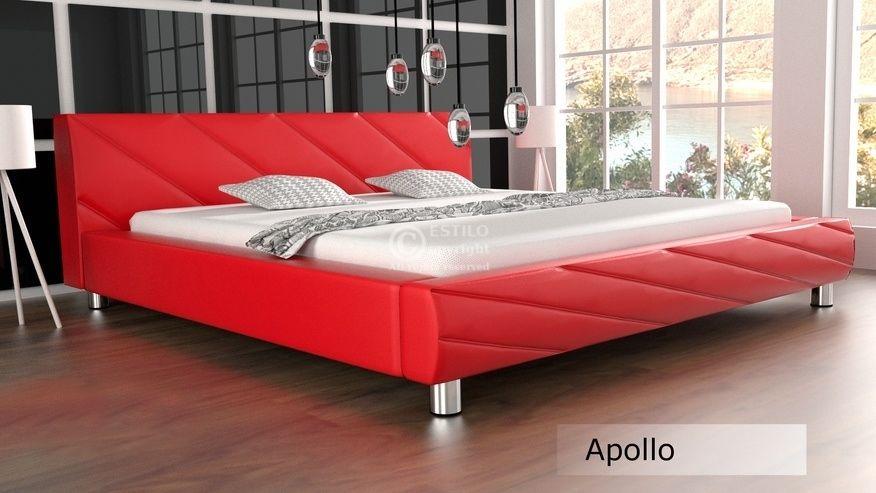 Łóżko do sypialni Apollo 200x220 - tkanina
