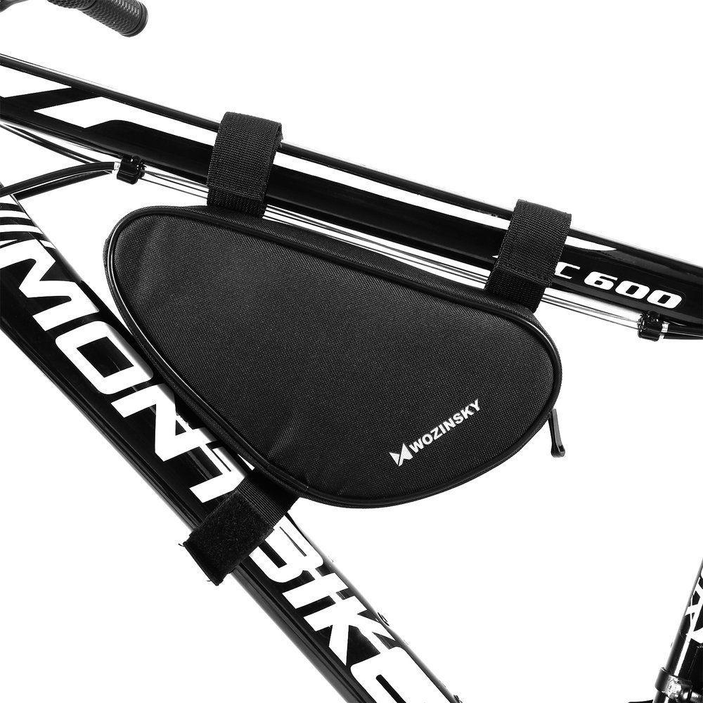 Wozinsky torba rowerowa na ramę roweru 1,5 L czarny (WBB11BK)