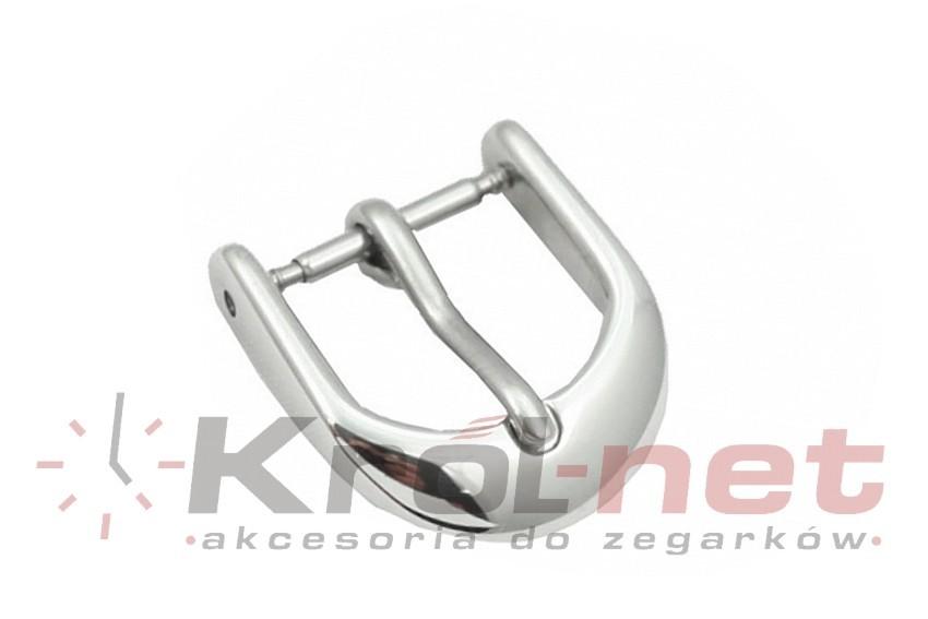 Sprzączka / klamerka stalowa, owalna 10, 12 mm