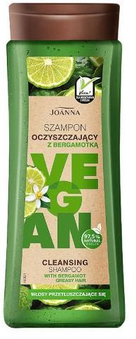 Joanna Vegan szampon oczyszczający z bergamotką 300 ml