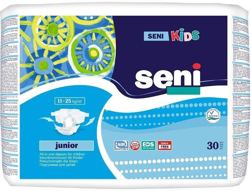 Seni Kids Pieluchomajtki dla dzieci Junior 30 szt