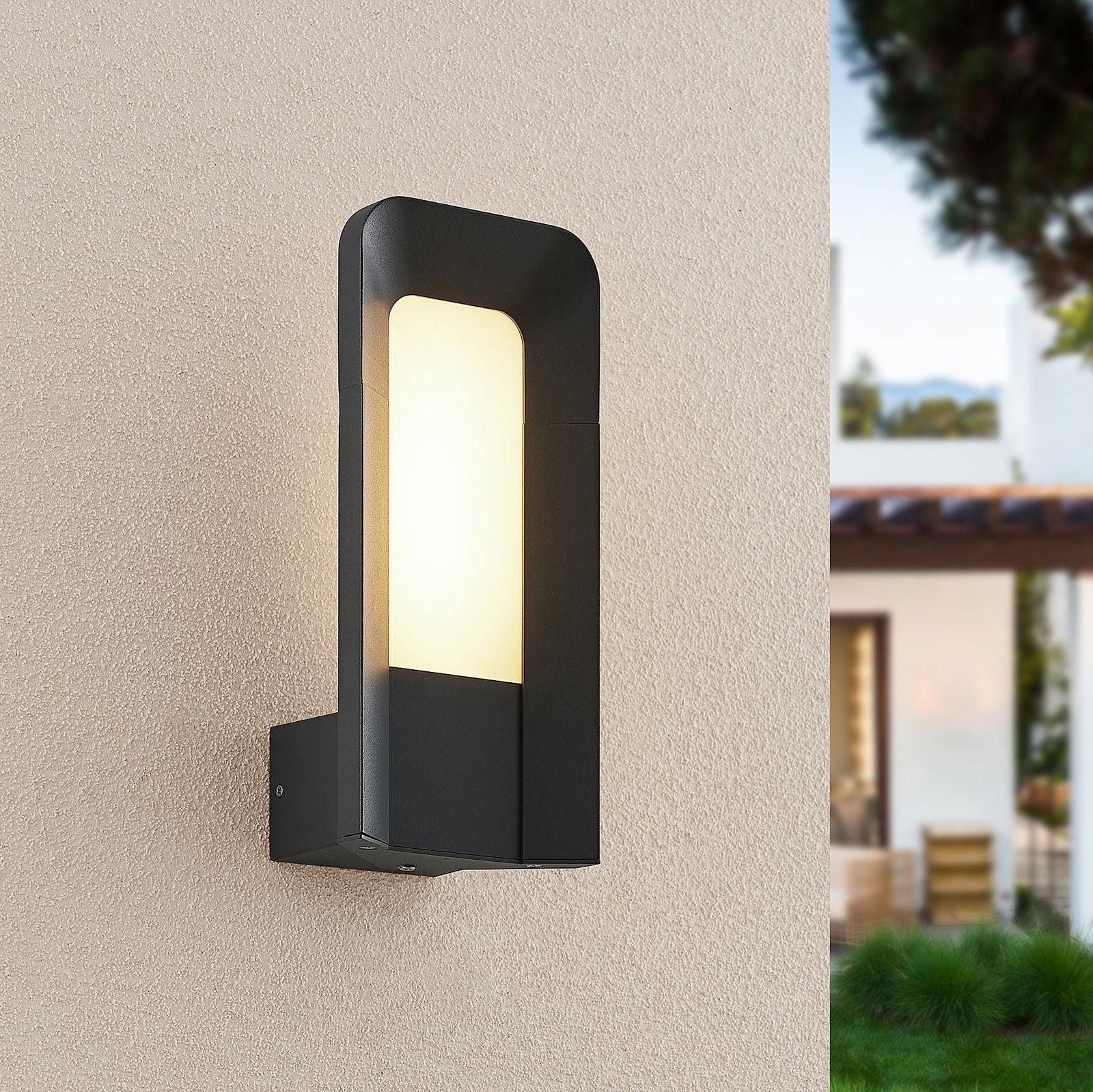 Lucande Secunda kinkiet zewnętrzny LED