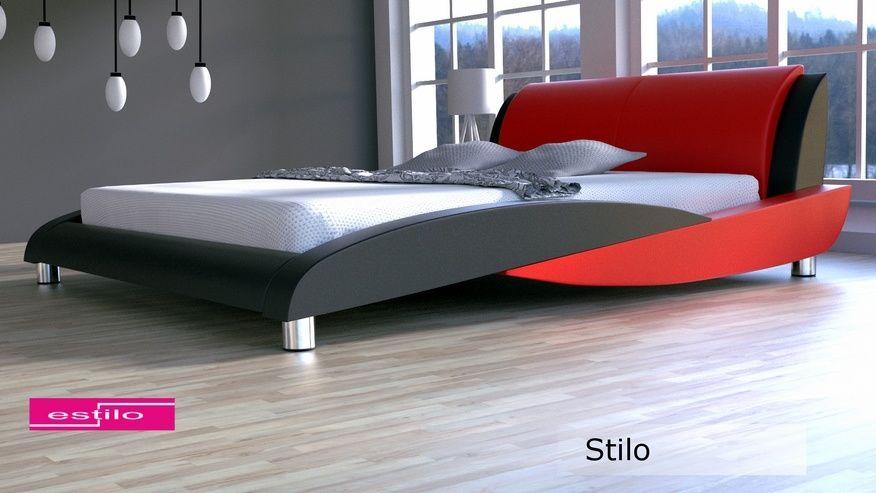 Łóżko tapicerowane Stilo 200x220 - tkanina