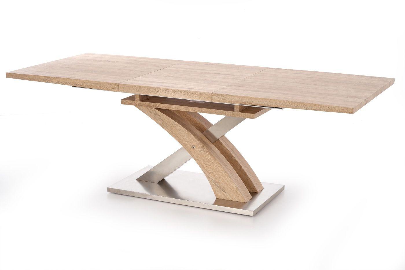 SANDOR stół rozkładany dąb sonoma Halmar