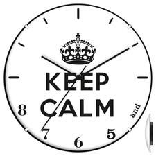 Zegar convex keep calm