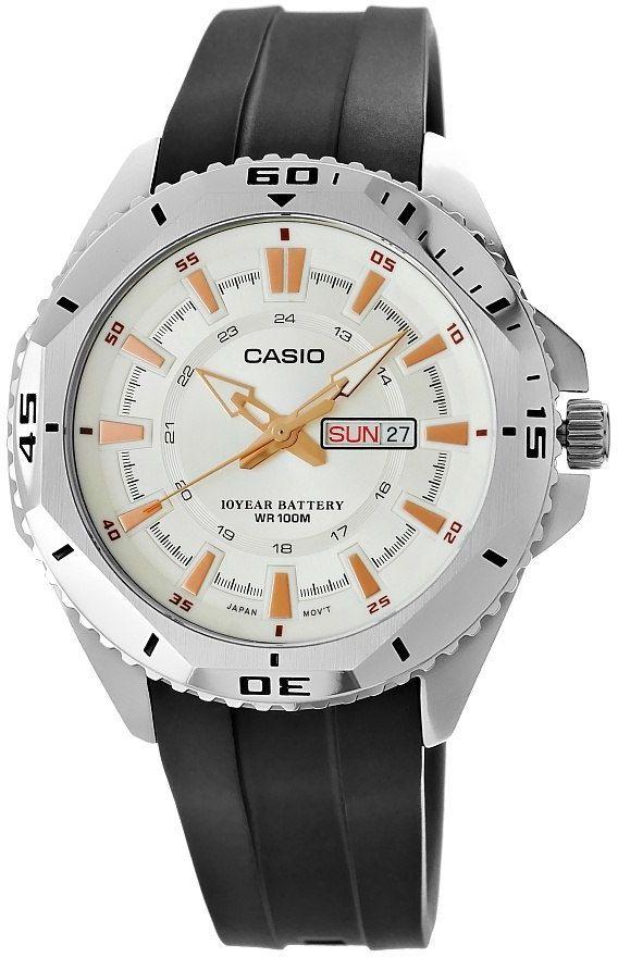 Zegarek Męski CASIO MTD-1085-7AVDF 10 Bar Do pływania