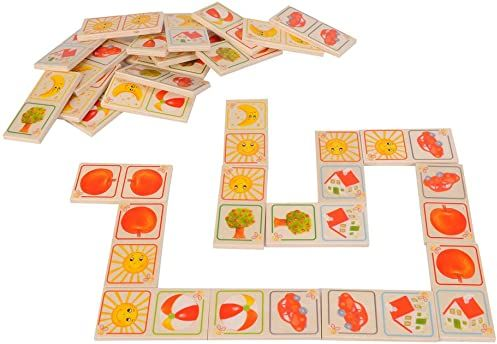 Eichhorn 100004940 - drewniana gra dominozowa