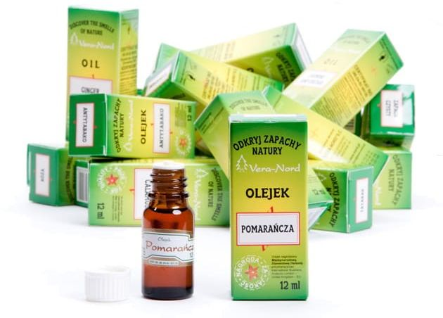 Lemongrass Mięta i Zielona Herbata Olejek Naturalny 12ml