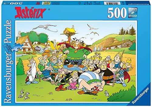 Ravensburger 14197 - Asterix i jego wioska - 500 części puzzle