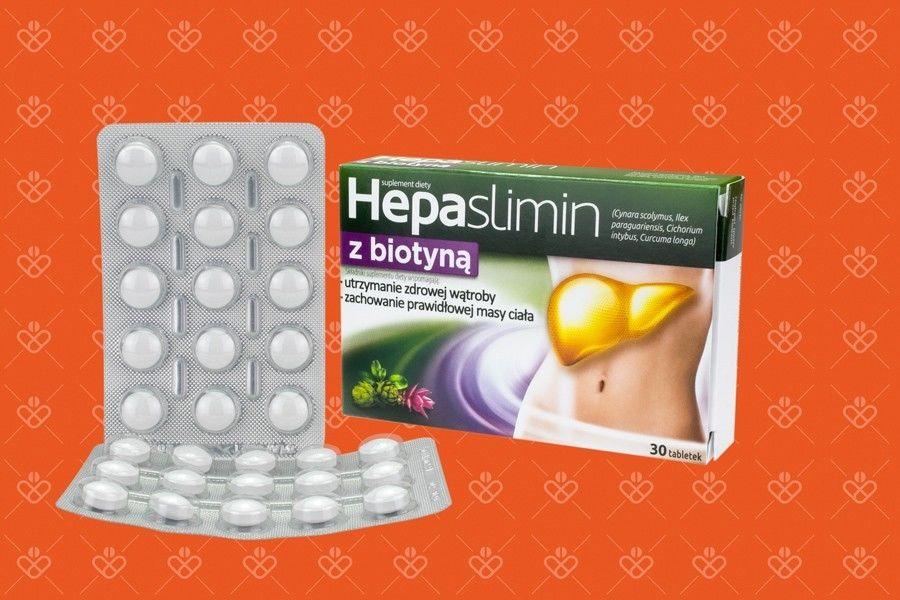 Hepaslimin z biotyną 30 tabletek