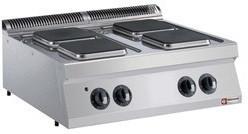 Kuchnia elektryczna nastawna 4 płytowa 10400W
