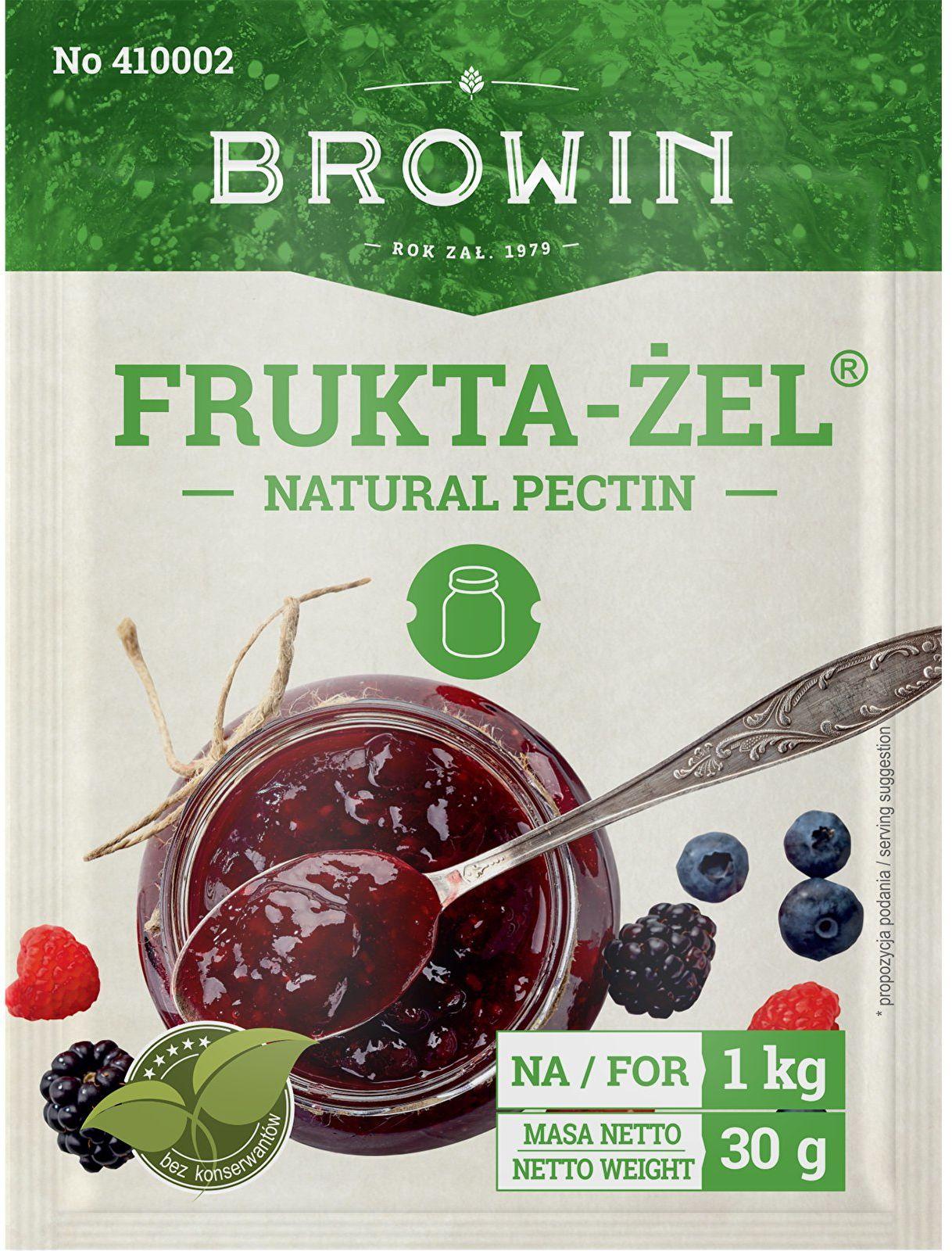 Frukta-Żel - żel do dżemów i konfitur, 30g