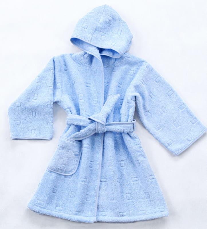 Szlafrok dla Dzieci Greno Niebieski rozmiary od 1,5 do 12 lat