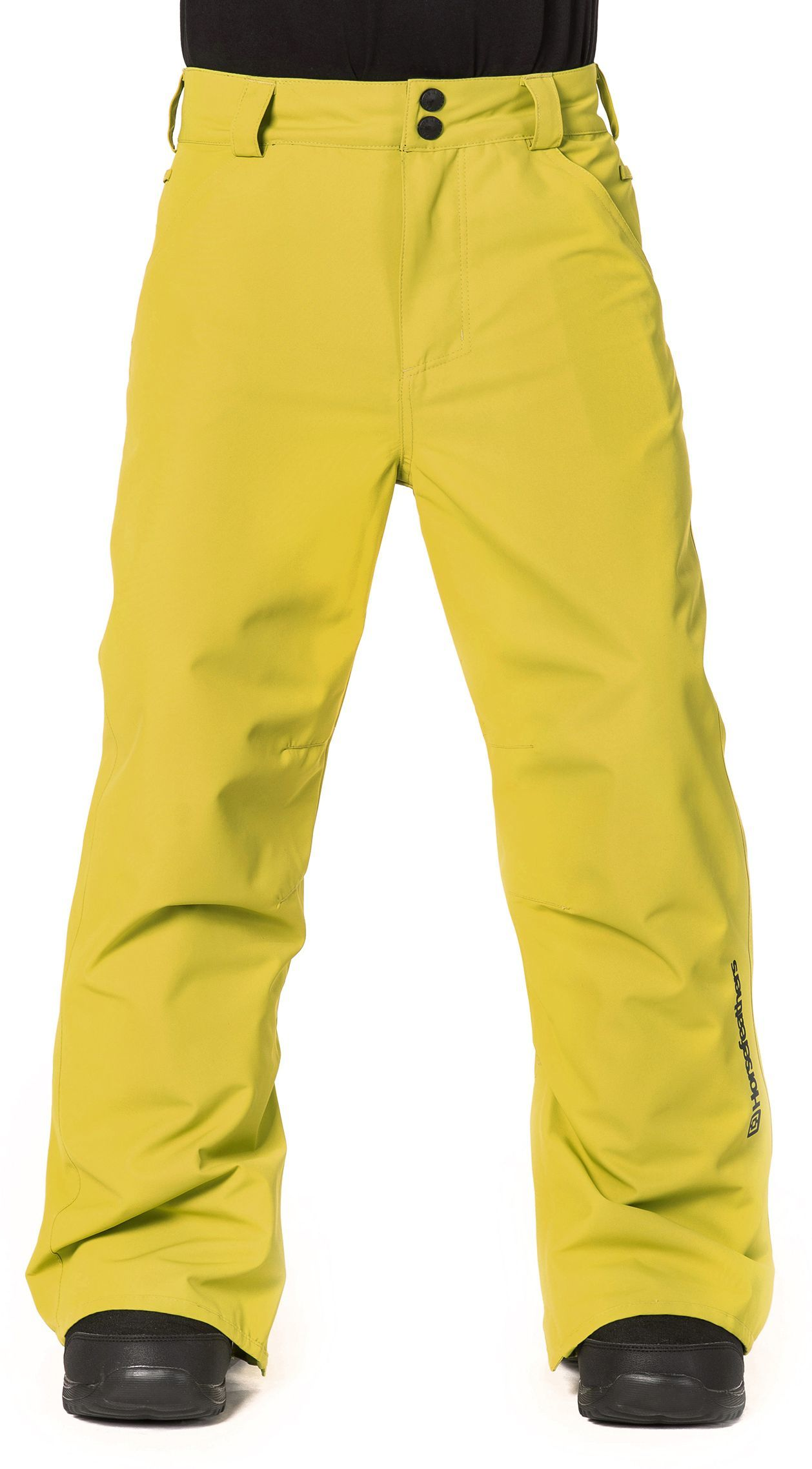 zimowe spodnie dziecięce HORSEFEATHERS PINBALL KIDS PANTS (apple green)