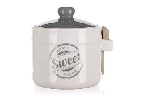 Banquet Pojemnik z łyżeczką Sweet home 400 ml