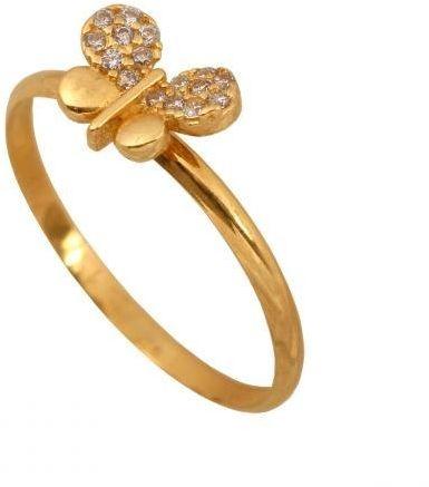Złoty pierścionek młodzieżowy Pi366