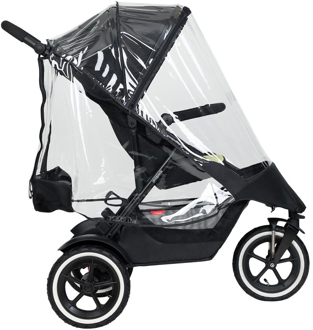 phil&teds 2019+ osłona przeciwdeszczowa na wózek Dot, Dash, Sport (2019+)
