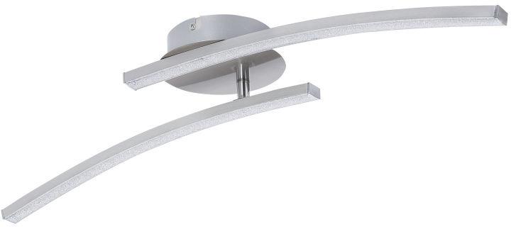Globo TANSY 67098-12 plafon lampa sufitowa satyna nikiel wyłącznik ścienny regulowana LED 12W 3000-6000K 59cm