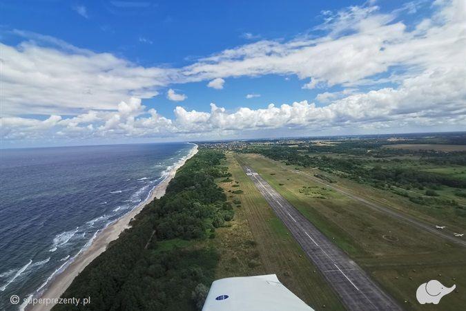 Lot widokowy nad Kołobrzegiem