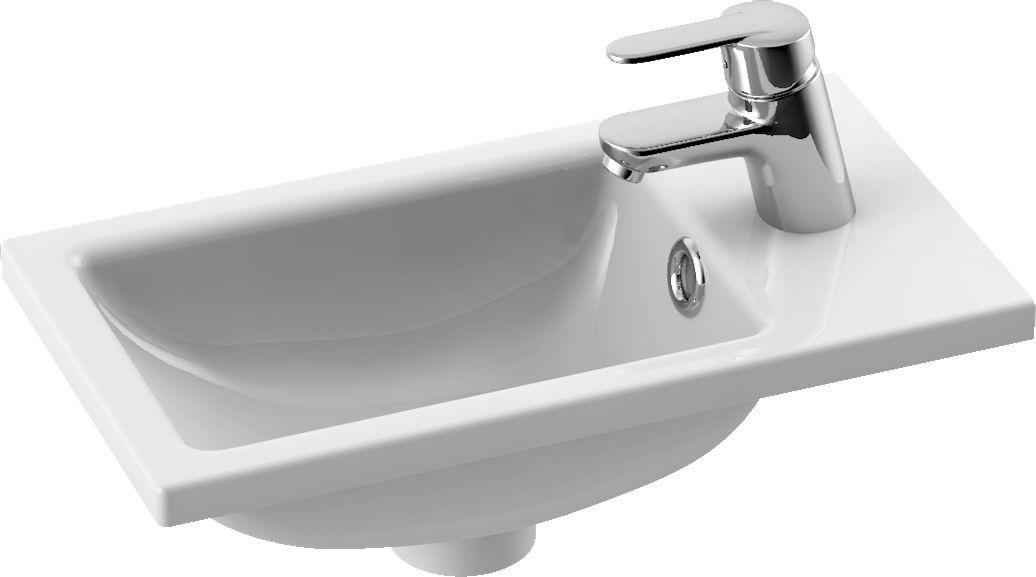 CeraStyle umywalka Mini, 24x42 cm 071100-u
