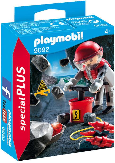 Playmobil - Wysadzanie skały 9092