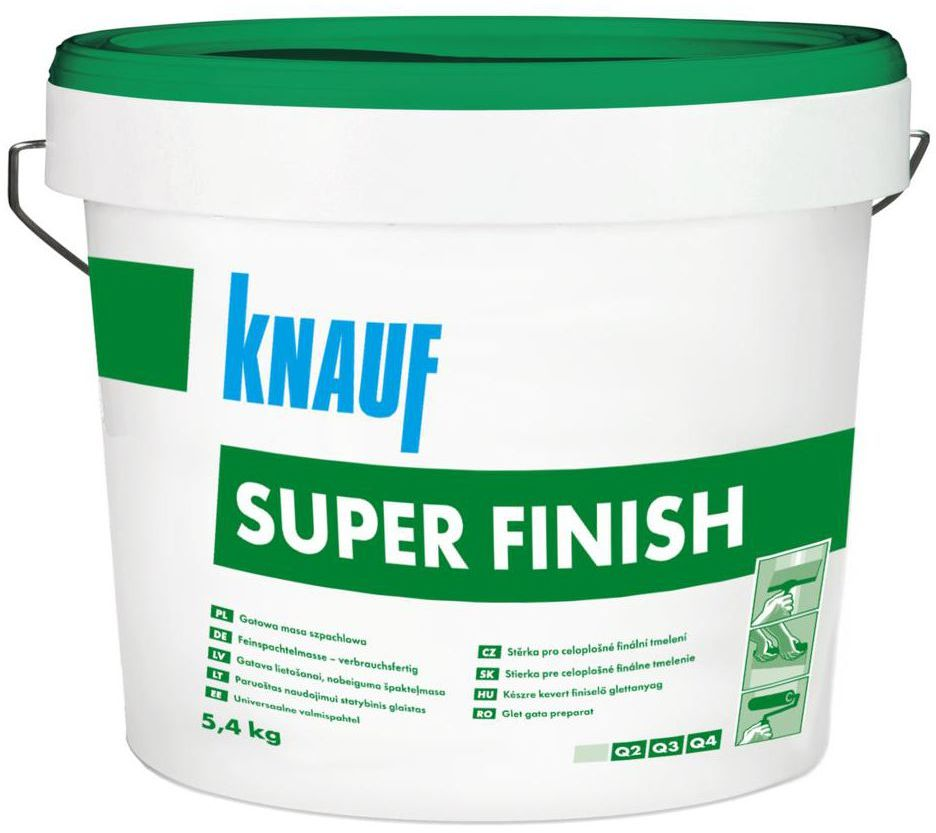 Gotowa masa szpachlowa SUPER FINISH 5,4 kg KNAUF