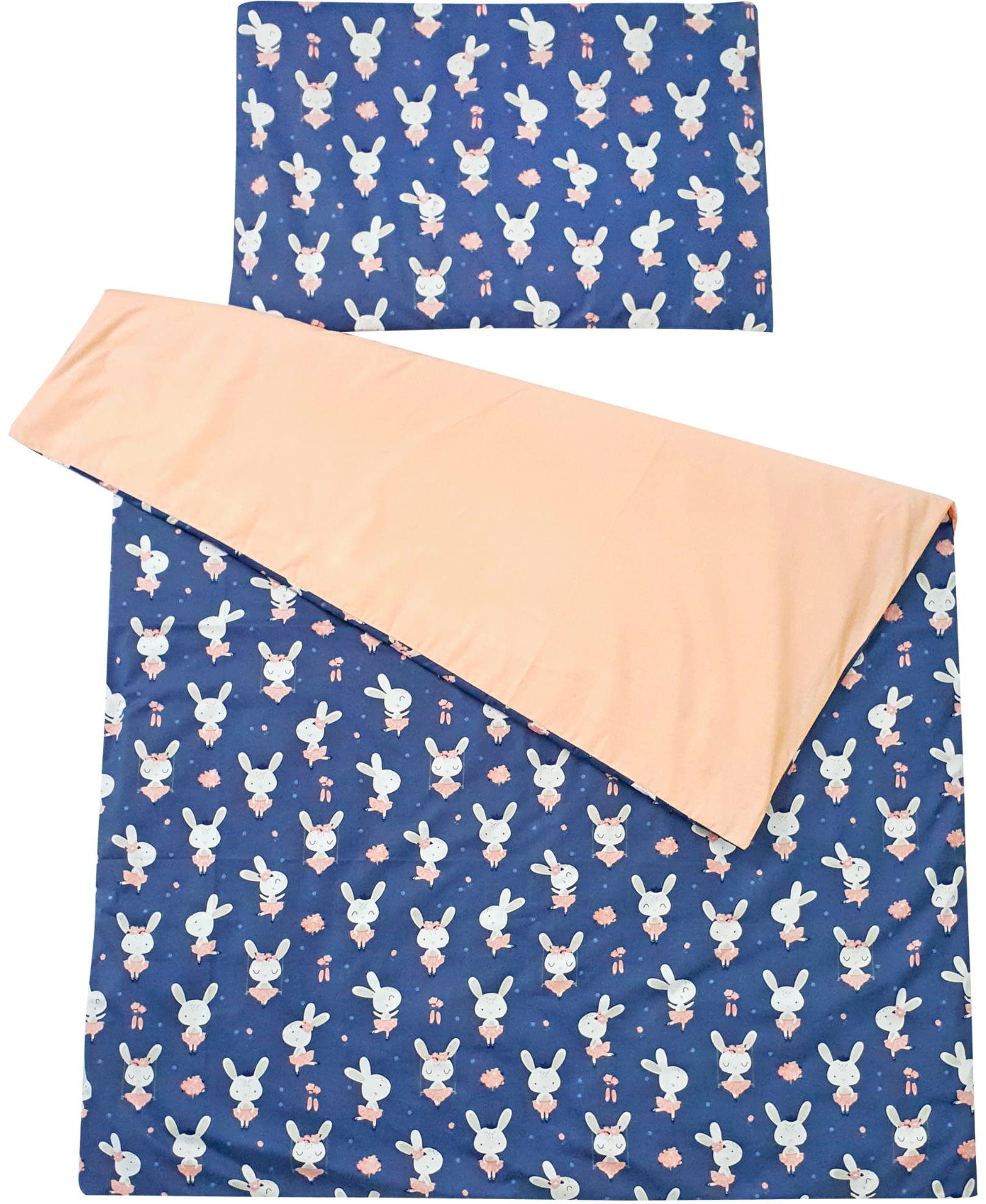 Pościel do łóżeczka 100% bawełna 2 el. króliczki