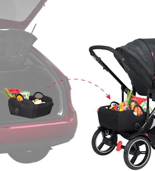 phil&teds 2019+ dodatkowy kosz pod wózek Tote