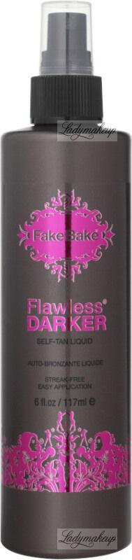 Fake Bake - Flawless Darker - SELF-TAN LIQUID - DARK - Samoopalacz w płynie z rękawicą