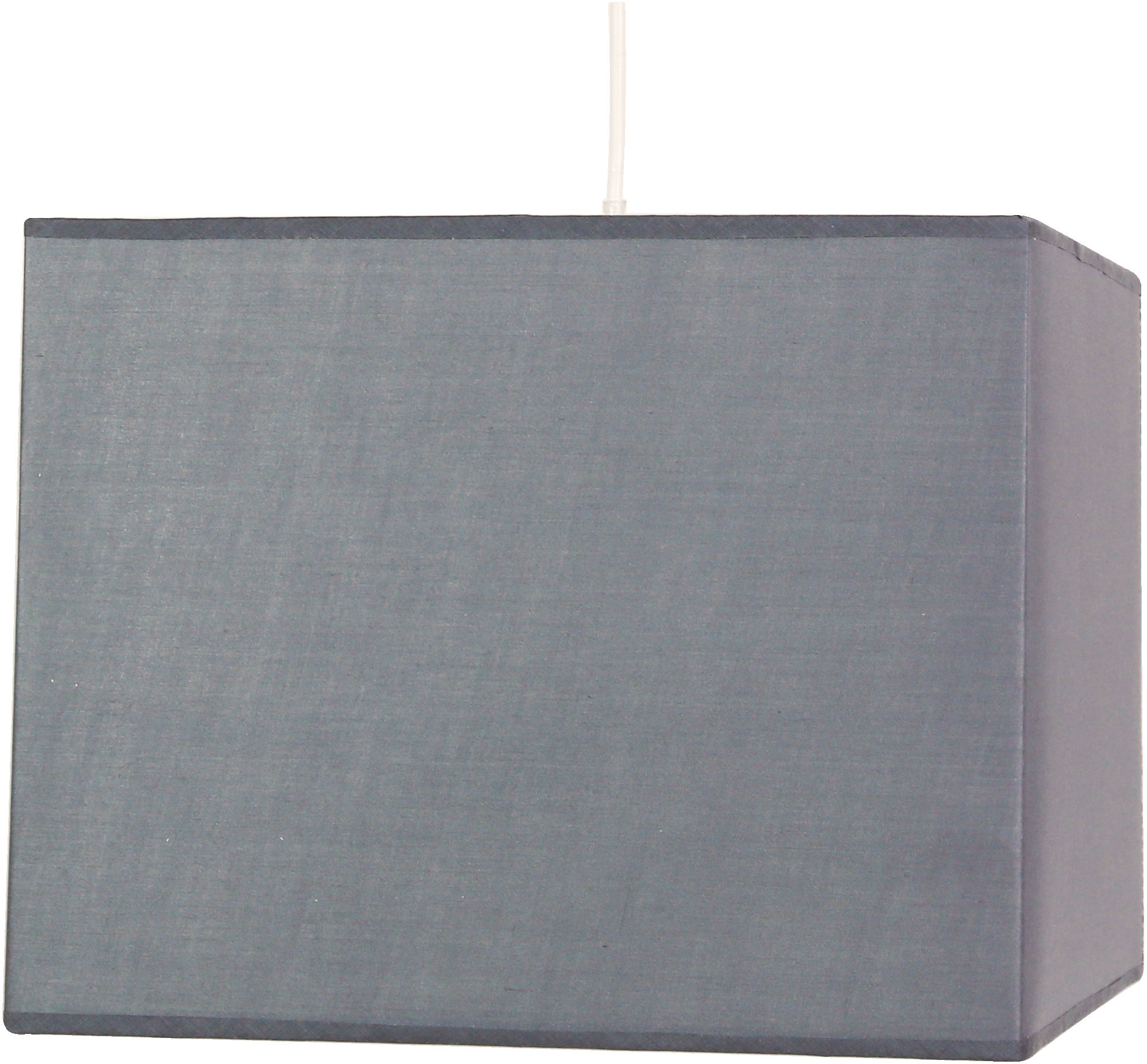 Candellux BASIC 31-06103 lampa wisząca kwadratowy abażur szary 1X60W E27 30 cm