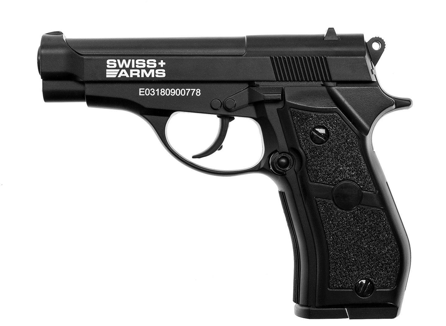 Wiatrówka CyberGun Swiss Arms P84 Full Metal 4,5 mm (288707)