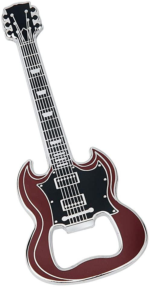 Guitar SG otwieracz do butelek brązowy