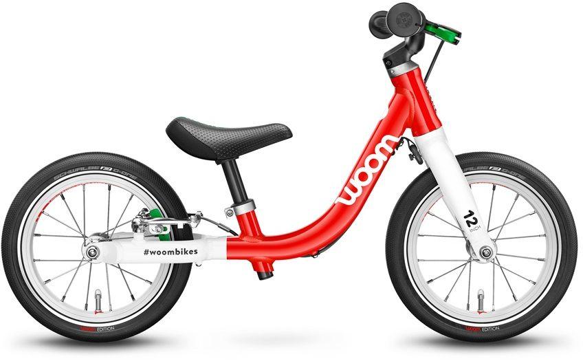 Woom 1 rower biegowy 12 cali red